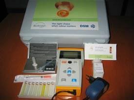 DSM Nutritional Products monitor del color del huevo