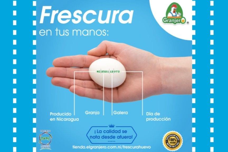 Huevos del Granjero promueve su 'Código de Frescura'